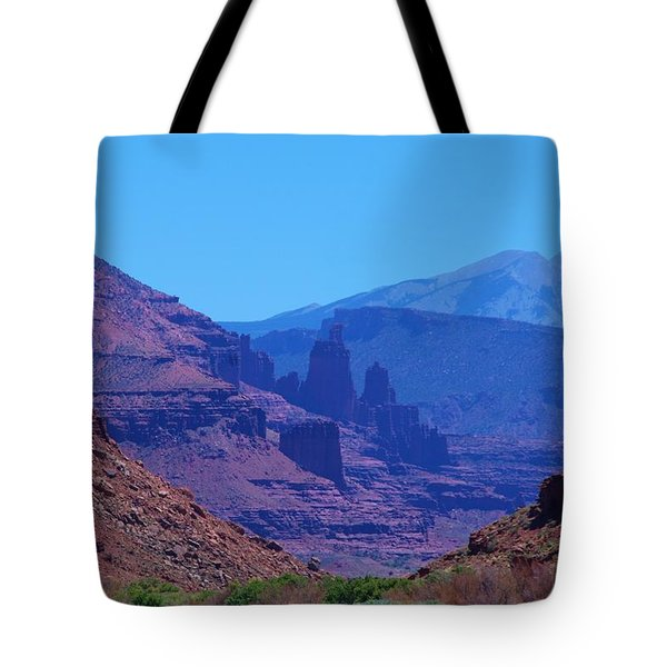 Canyon Colors Tote Bag by Dany Lison