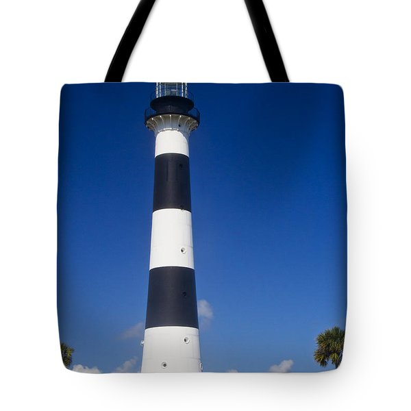 Cape Canaveral Lighthouse 2 Tote Bag by Roger Wedegis