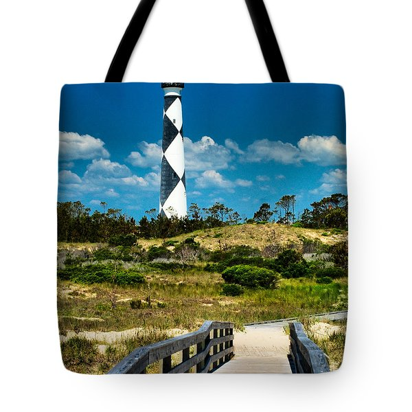 Cape Lookout Light Tote Bag