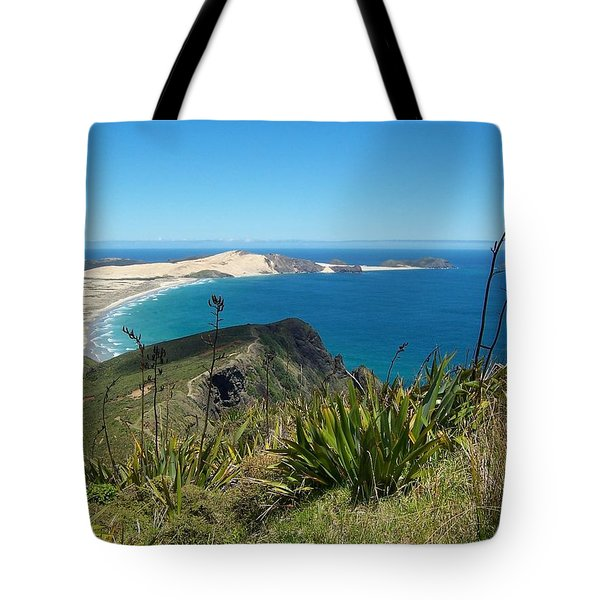 Cape Reinga - North Island Tote Bag by Peter Mooyman