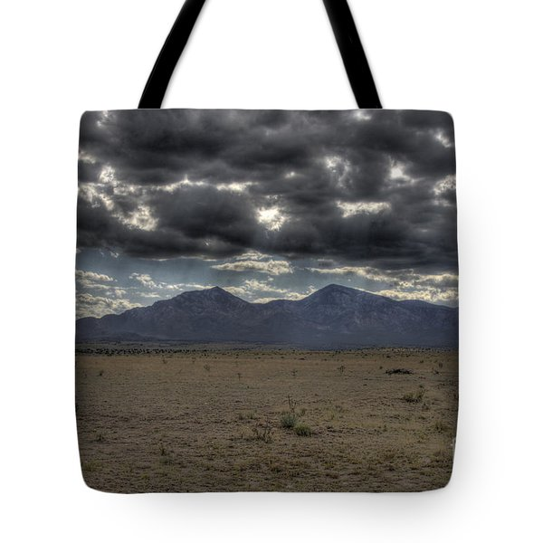 Capitan Clouds Tote Bag
