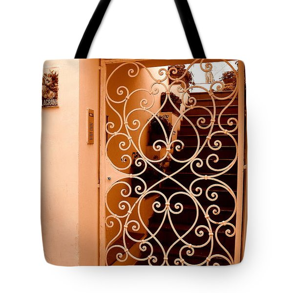Capri   3 Tote Bag by Tanya  Searcy