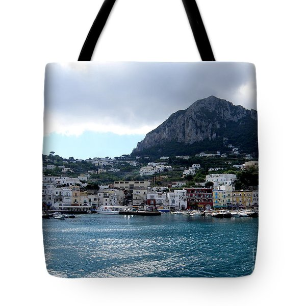 Capri 10 Tote Bag by Tanya  Searcy