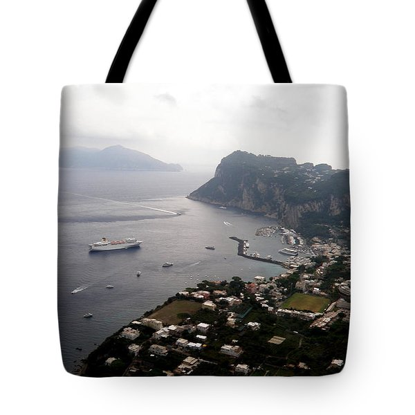 Capri  9 Tote Bag by Tanya  Searcy