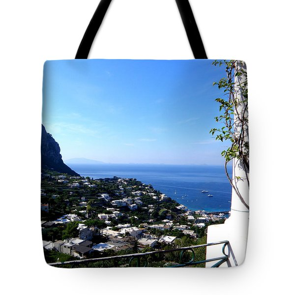 Capri Tote Bag by Tanya  Searcy