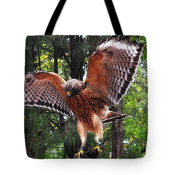 Tote Bag featuring the photograph Captivity by Lydia Holly