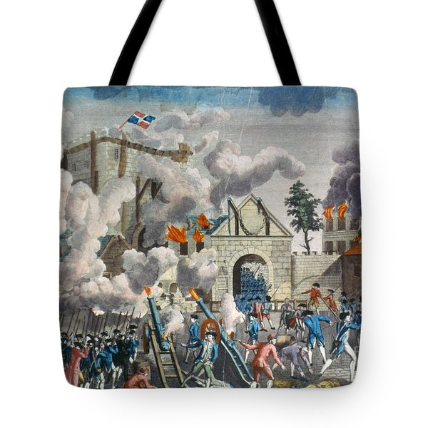 Capture Of Bastille, 1789 Tote Bag by Granger