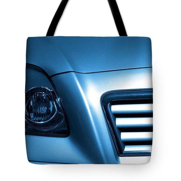 Car Face Tote Bag by Carlos Caetano