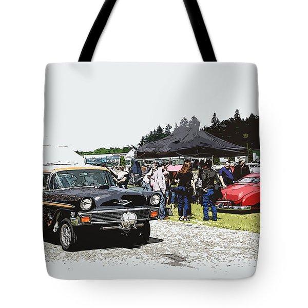 Car Show Gasser Tote Bag by Steve McKinzie