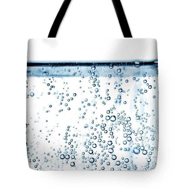 Carbonated Water Tote Bag by Photo Researchers, Inc.