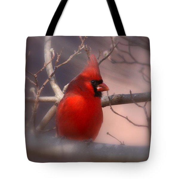 Cardinal - Unafraid Tote Bag