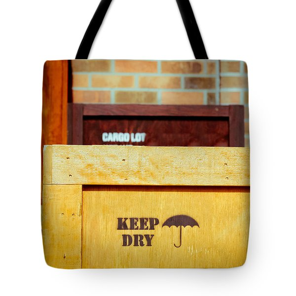 Cargo Crates Tote Bag by Tom Gowanlock
