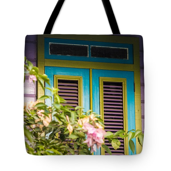 Caribbean Blue Tote Bag by Rene Triay Photography