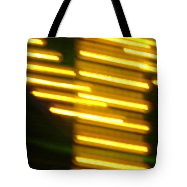 Carnival Blur Tote Bag by Michelle Calkins