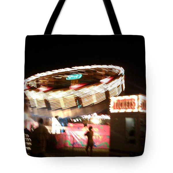 Tote Bag featuring the photograph Carnival by Clara Sue Beym