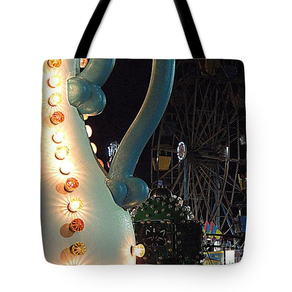 Tote Bag featuring the photograph Carnivale by Renee Trenholm