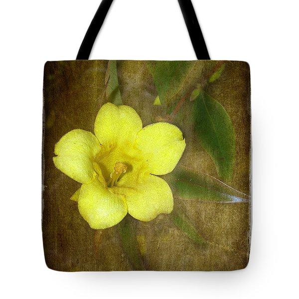 Carolina Jessamine Tote Bag by Judi Bagwell