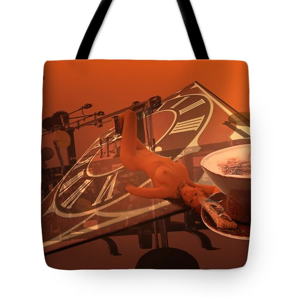 Carpecappuccino Tote Bag by Helmut Rottler