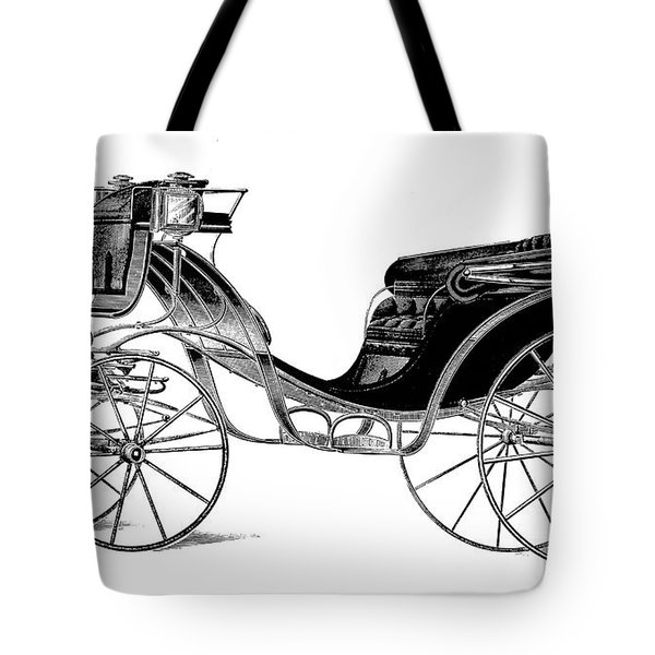 Carriage: Victoria Tote Bag by Granger
