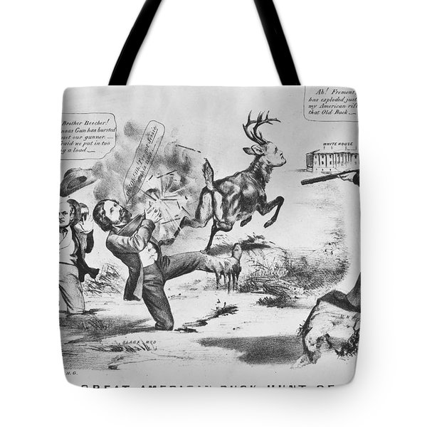 Cartoon: Election Of 1856 Tote Bag by Granger