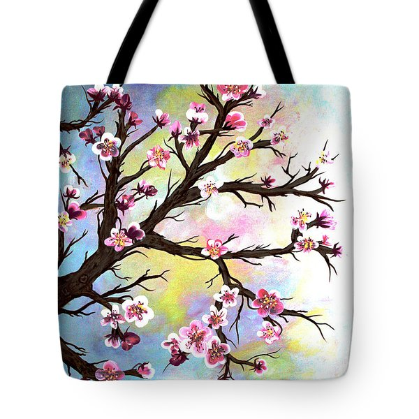 Carved In A Cherry Tree I I Tote Bag by Barbara Griffin