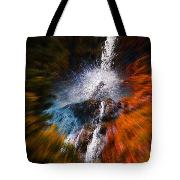 Cascade Waterfall Tote Bag by Mick Anderson