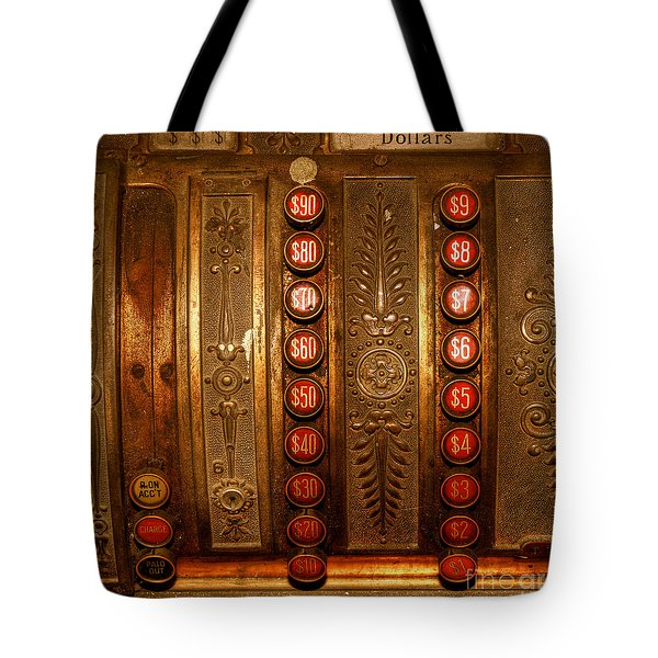 Tote Bag featuring the photograph Cash Register by Trey Foerster