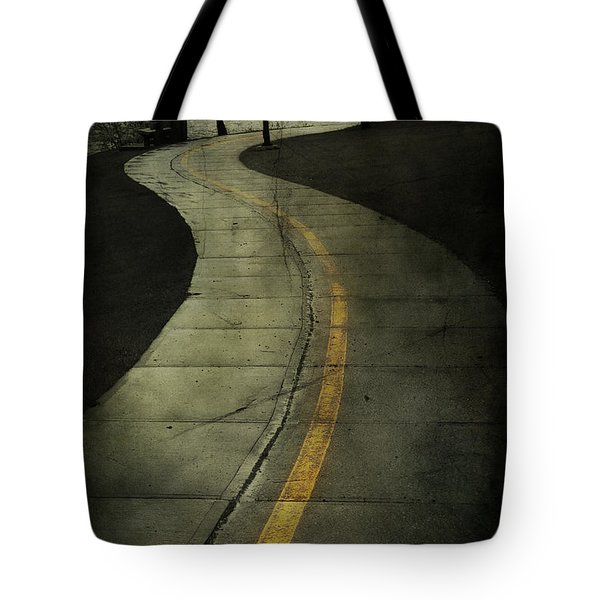 Casledowns Road  Tote Bag by Jerry Cordeiro