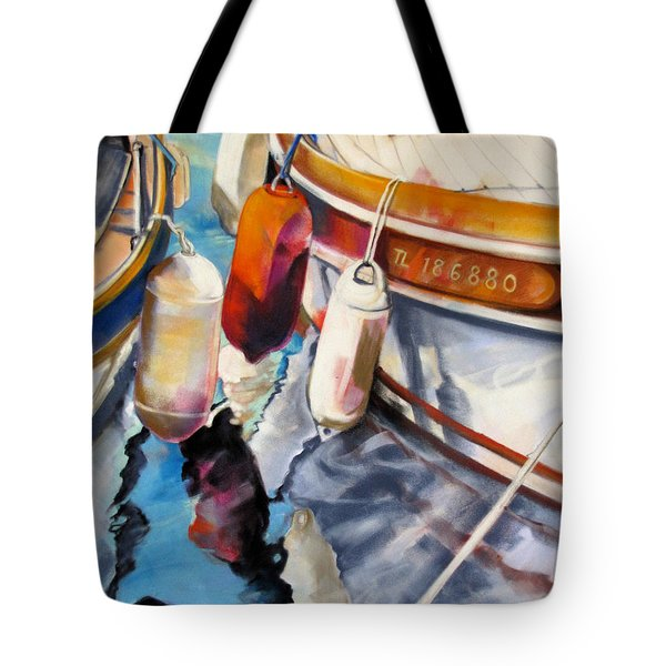 Cassis Castaways Tote Bag by Rae Andrews