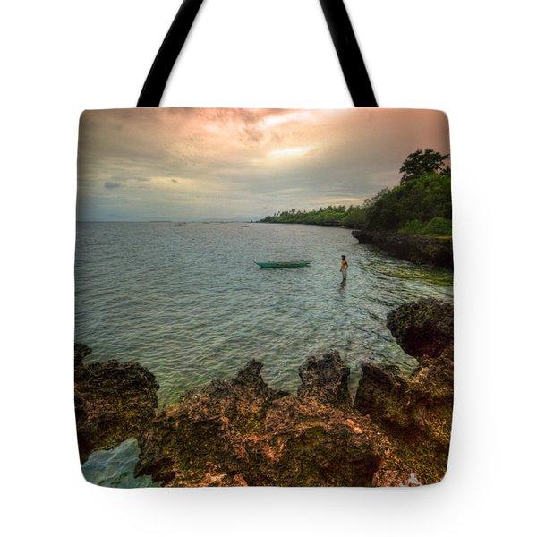 Cast Away Tote Bag by Yhun Suarez