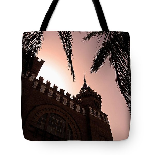 Tote Bag featuring the photograph Castell Dels Tres Dragons - Barcelona by Juergen Weiss