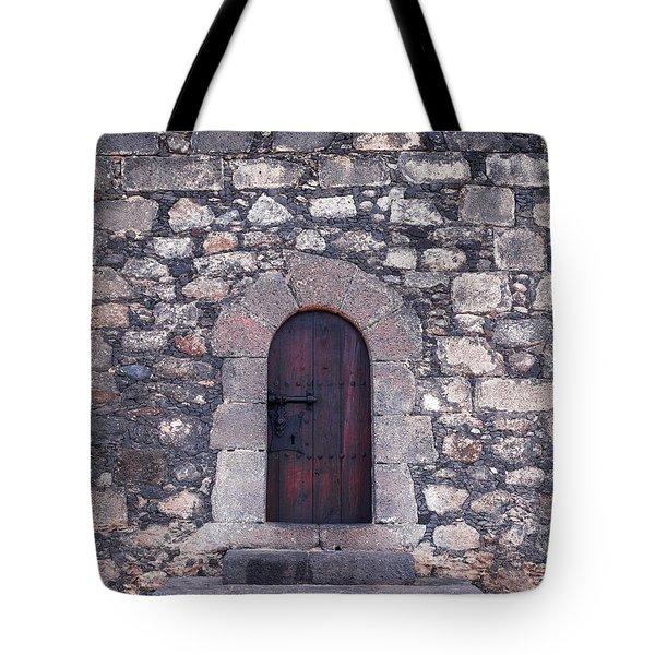 Castillo de San Gabriel at Arrecife Tote Bag by Jouko Lehto