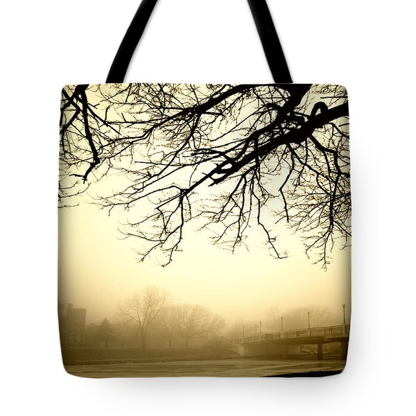 Castle In The Fog Tote Bag