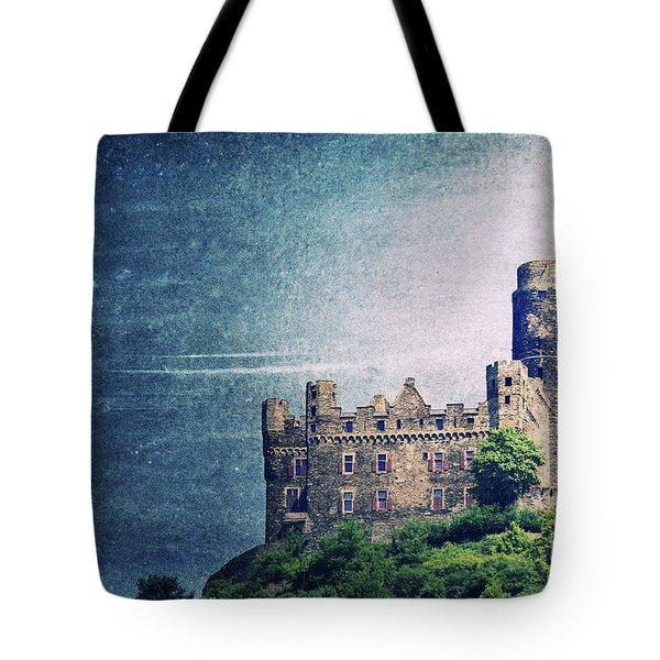 Castle Mouse Tote Bag