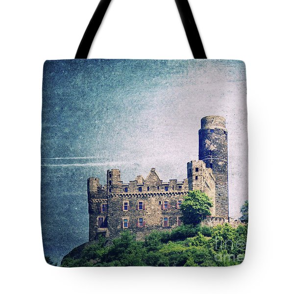Castle Mouse Tote Bag by Angela Doelling AD DESIGN Photo and PhotoArt
