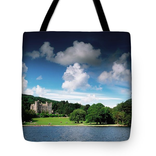 Castlewellan Castle & Lake, Co Down Tote Bag by The Irish Image Collection