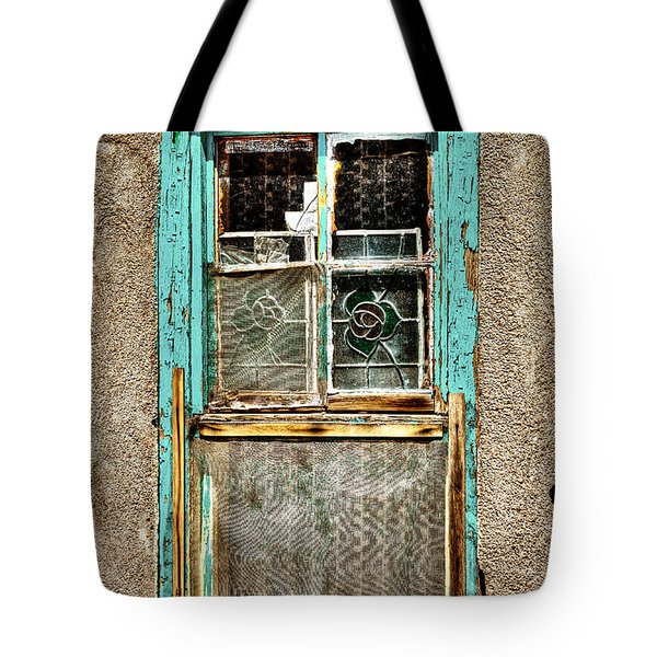 Cat In The Window Tote Bag by David Patterson