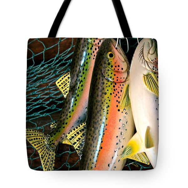 Catch Of The Day Tote Bag by Karon Melillo DeVega
