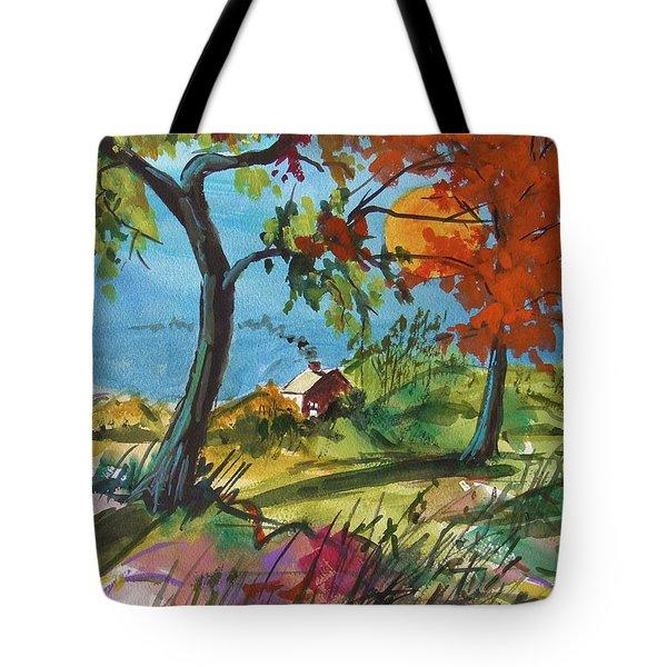 Catching Sundown Tote Bag