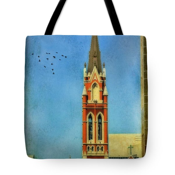 Tote Bag featuring the photograph Cathedral by Joan Bertucci