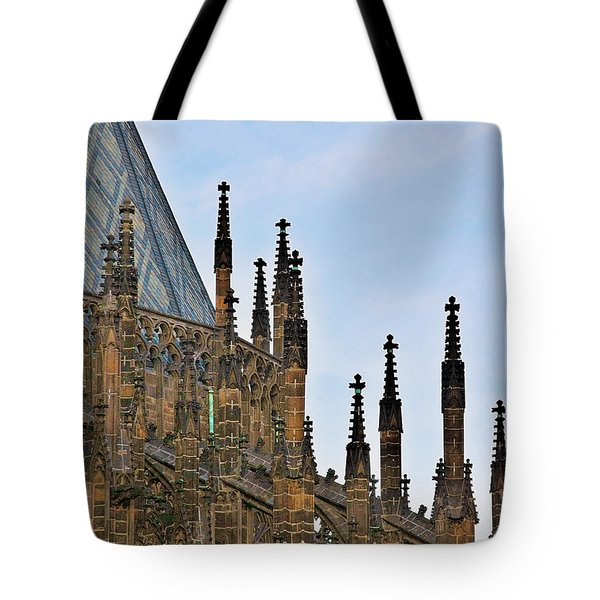 Cathedral Of Ss Vitus - Prague Castle Hradcany - Prague Tote Bag by Christine Till