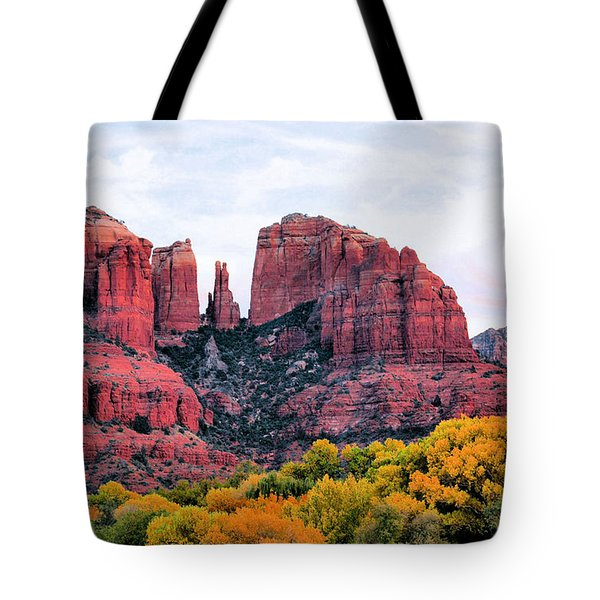 Cathedral Rock Tote Bag by Kristin Elmquist