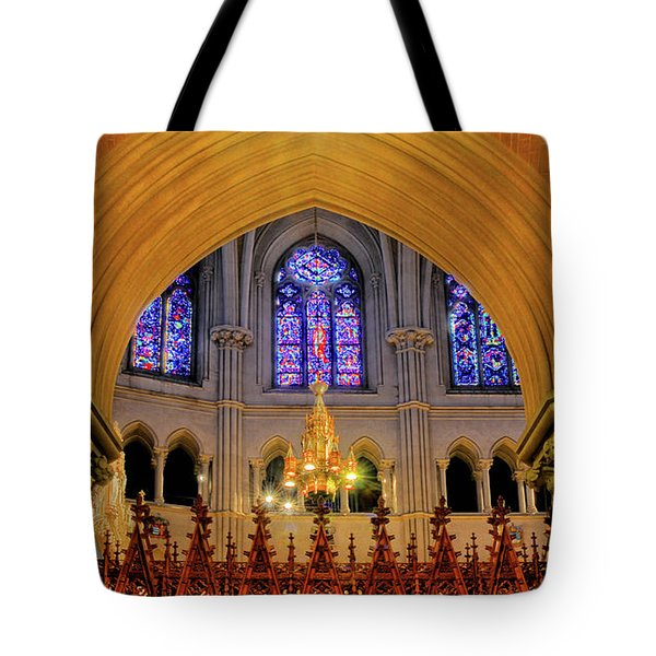 Cathedral Study Tote Bag by Dave Mills