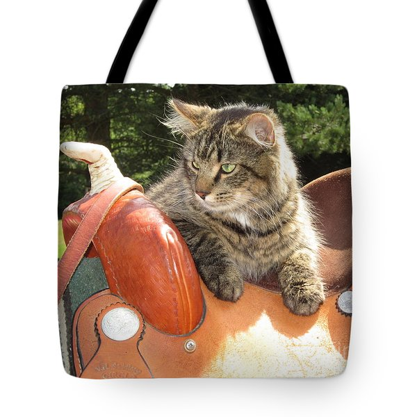 Cats Ride Free Tote Bag