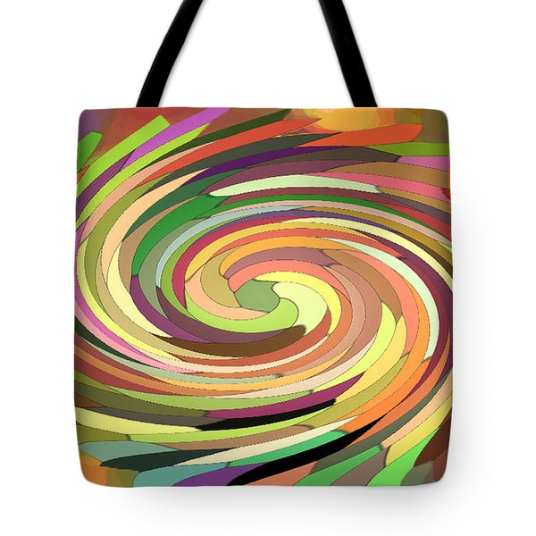 Cat's Tail In Motion. Stained Glass Effect. Tote Bag by Ausra Huntington nee Paulauskaite