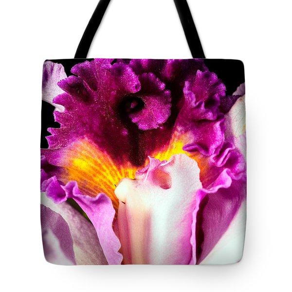 Cattleya II Tote Bag by Christopher Holmes