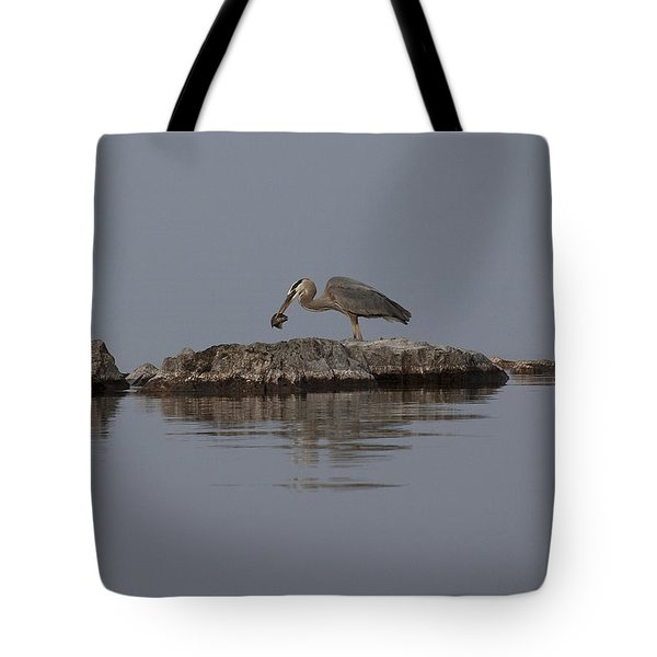Caught One Tote Bag by Eunice Gibb