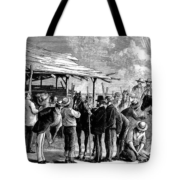Cavalry Horses, 1876 Tote Bag by Granger