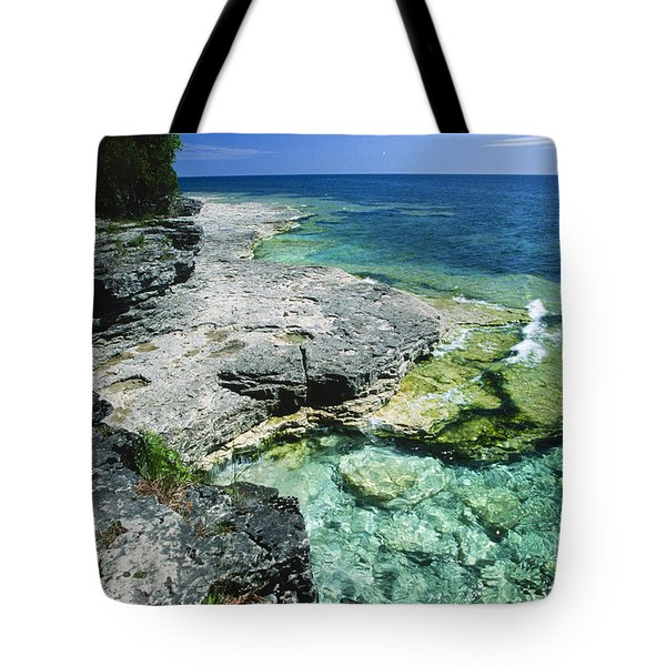 Cave Point Vista Tote Bag