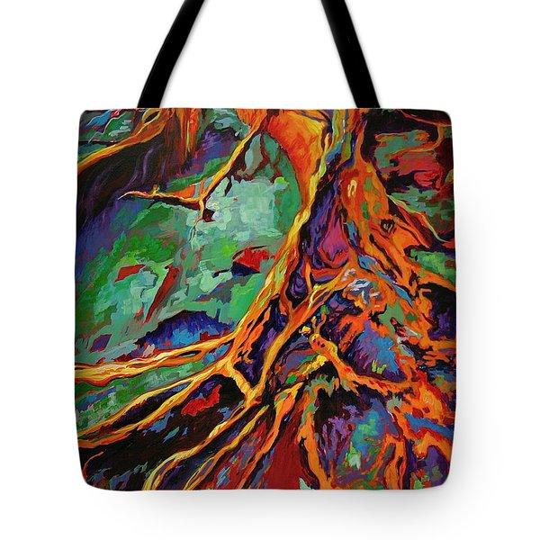 Cedar Roots Tote Bag